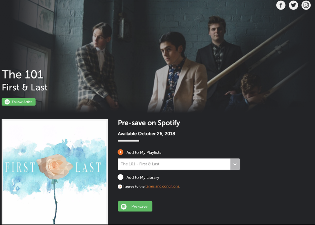 How Do I Set Up a Pre-Save on Spotify? - EmuBands